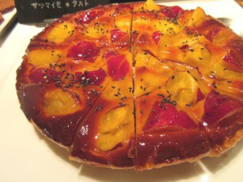 ウェスティンホテル東京「ザ・テラス」サツマイモのタルト