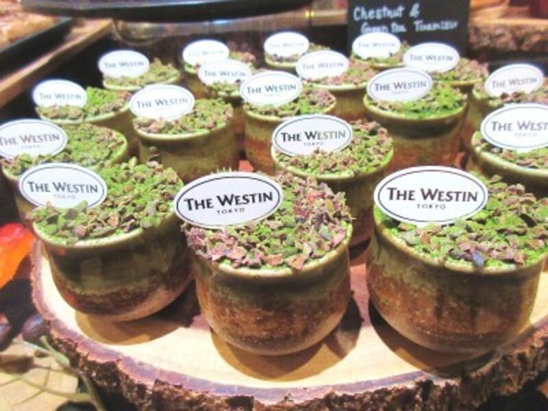 ウェスティンホテル東京「ザ・テラス」マロン&抹茶のティラミス