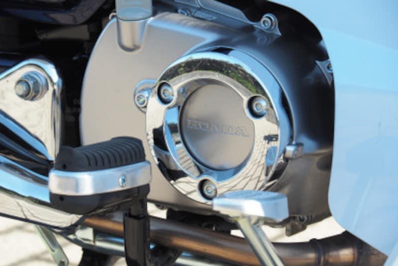 スーパーカブC125のエンジン