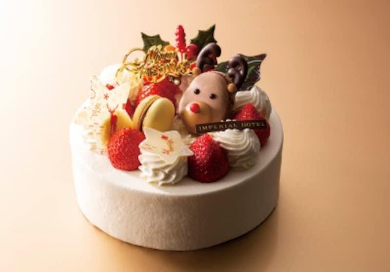 帝国ホテル東京のクリスマスショートケーキ<生クリーム>4,200円(12㎝)5,000円(15㎝)6,600円(18cm)