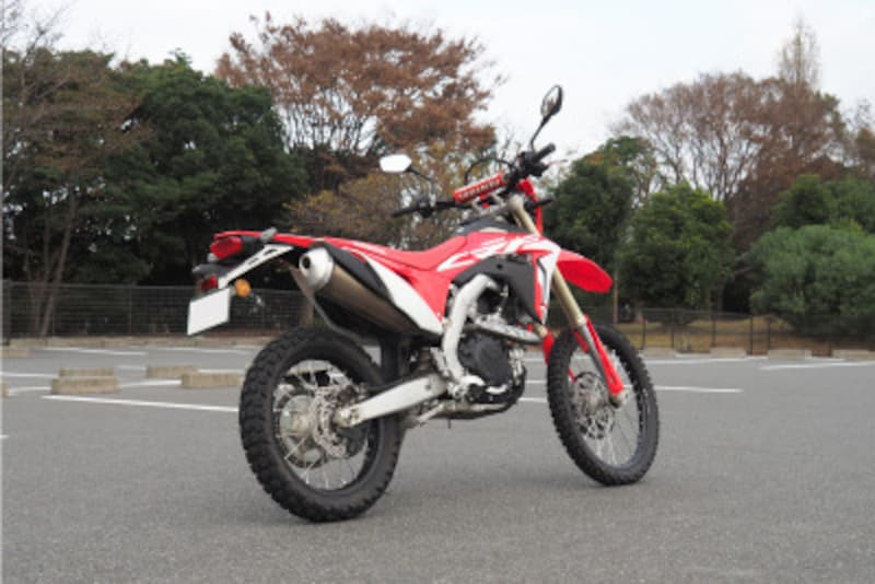 CRF450Lリアビュー