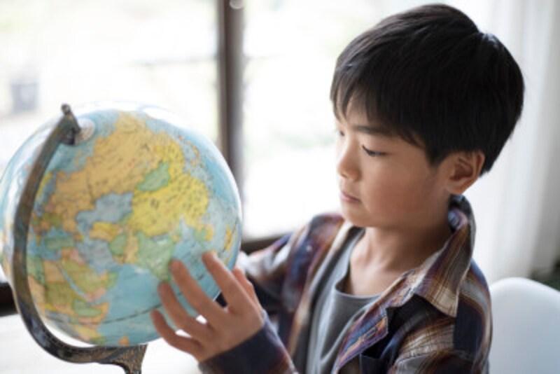 学習に役立つ地球儀