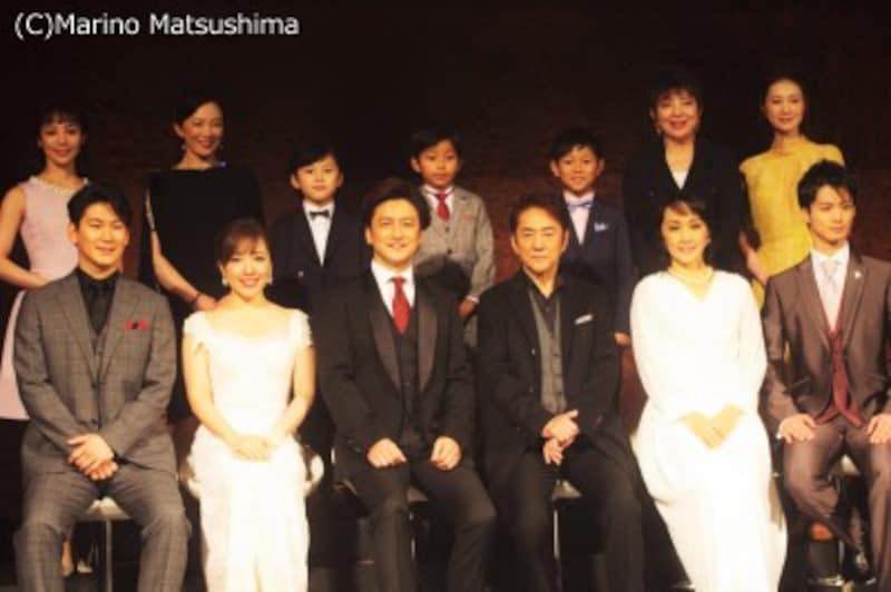 『ラブ・ネバー・ダイ』2019年度版製作発表にて。(C)MarinoMatsushima