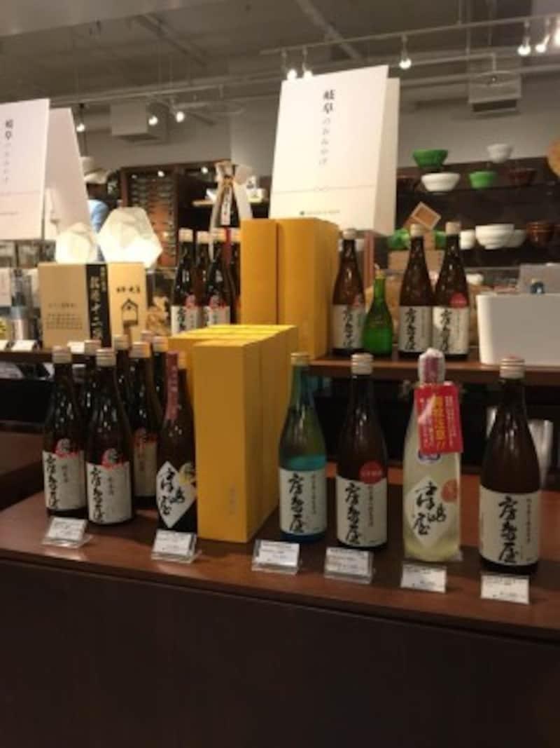 JR岐阜駅構内のお土産店は岐阜県中のお土産が揃う