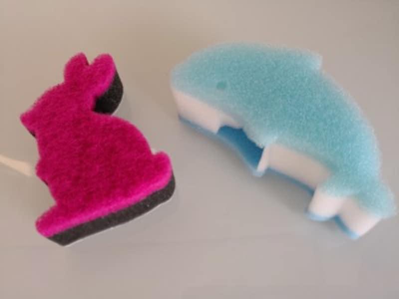 ダイソーのおすすめグッズ9:収納に困らない食器洗い用スポンジ