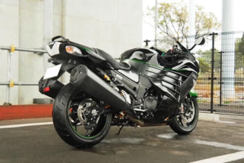 ZX14Rリアビュー