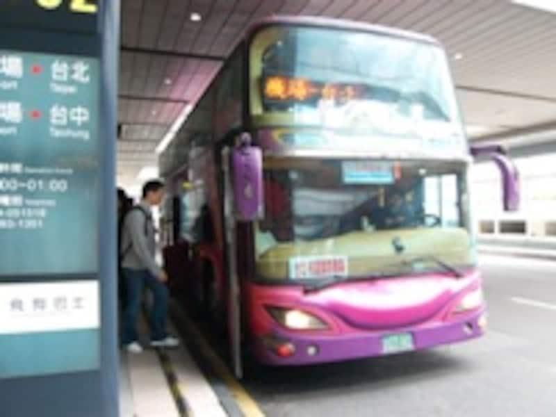 桃園国際空港バス乗り場