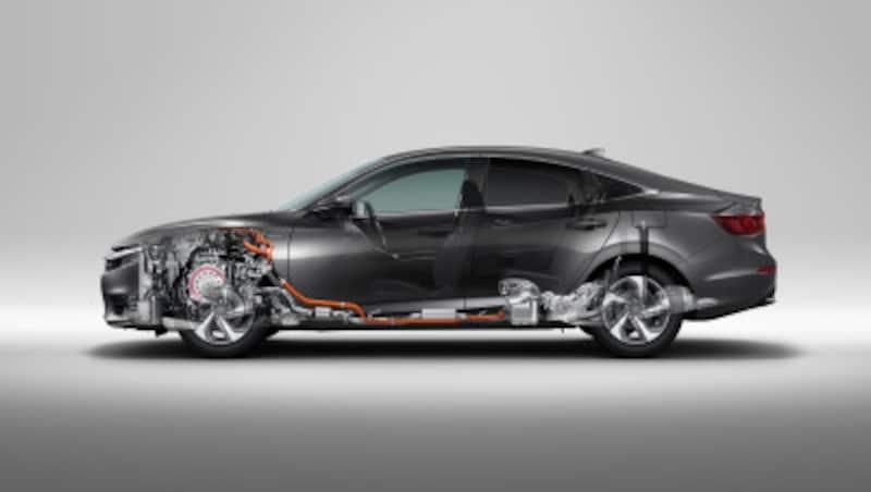 Honda(ホンダ)新型「INSIGHT(インサイト)」LXi-MMDスケルトンイメージ