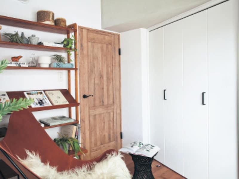 白いインテリア・寝室
