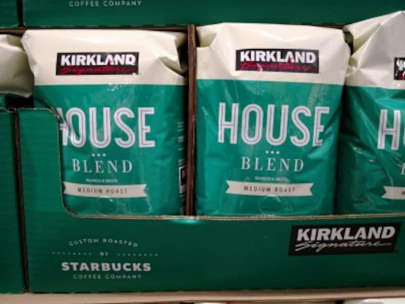 コストコのおすすめ食べ物2:カークランドシグネチャー スターバックス ロースト ハウスブレンドコーヒーめ
