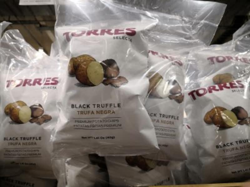 コストコのおすすめ食べ物3:トレース ポテトチップス黒トリュフ
