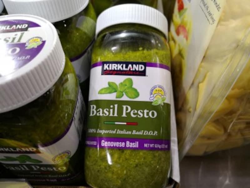 コストコのおすすめ食べ物6:カークランドシグネチャー バジルペースト