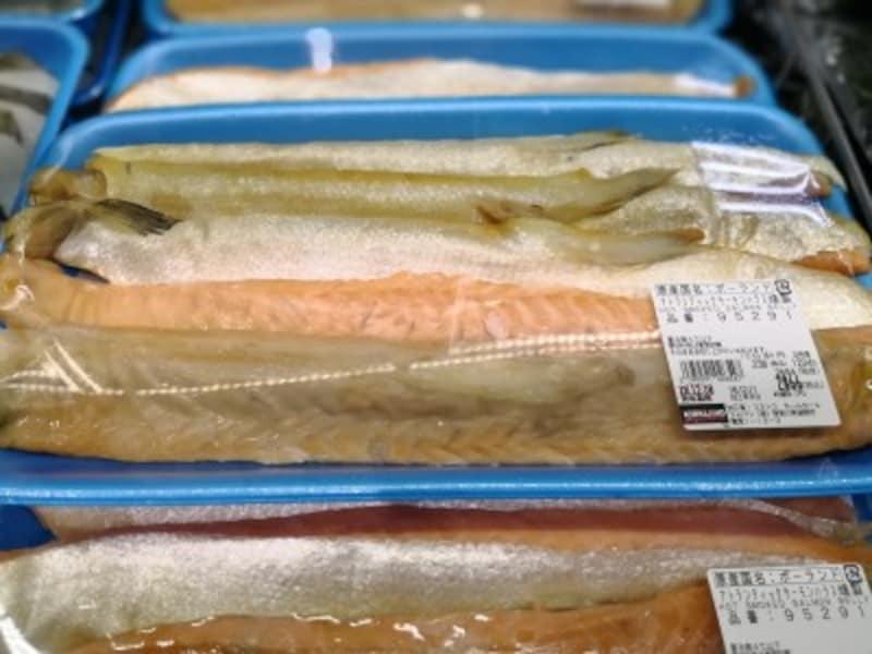 コストコのおすすめ食べ物11:アトランティックサーモンハラス燻製