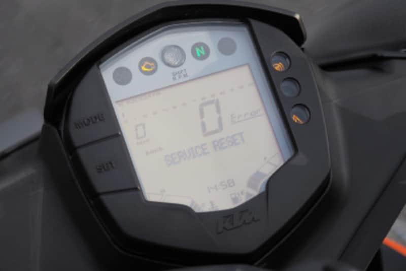 SETボタンの下が隠しボタンになっている