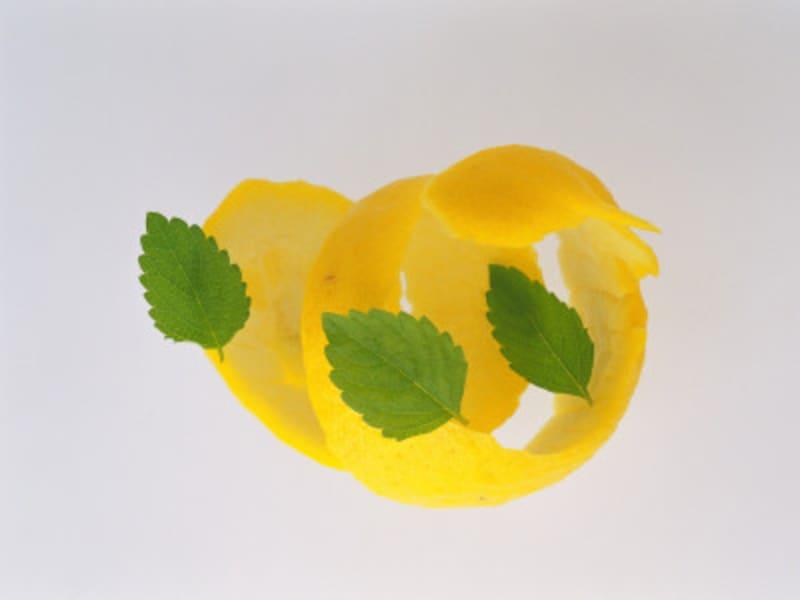 レモンは皮が命!