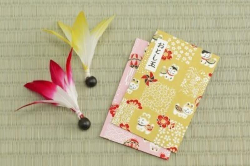 お正月工作・製作無料素材ダウンロードで作れるポチ袋