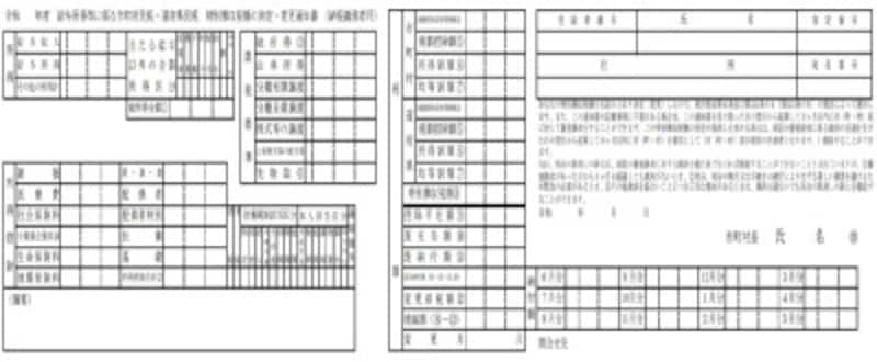 特別徴収税額の決定通知書(納税義務者用)