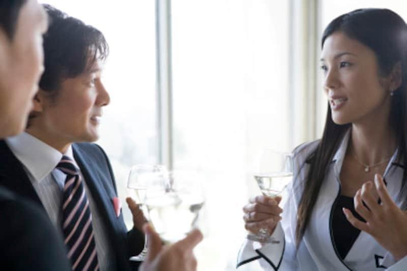 ワインを飲むとビジネスが成功する