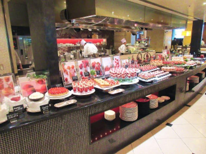 ウェスティンホテル東京メインのブッフェ台