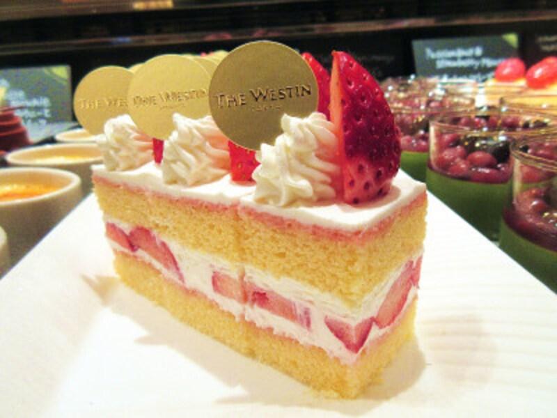 ウェスティンホテル東京ストロベリーショートケーキ