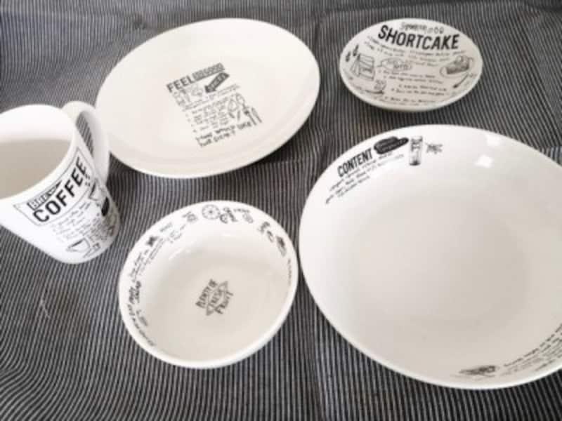 セリアの食器おすすめモノトーン