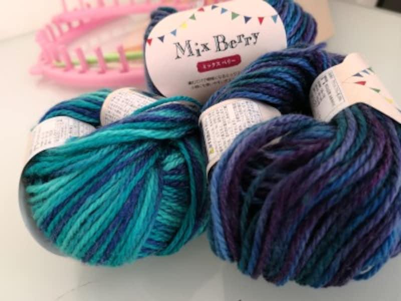 セリアのおすすめ毛糸