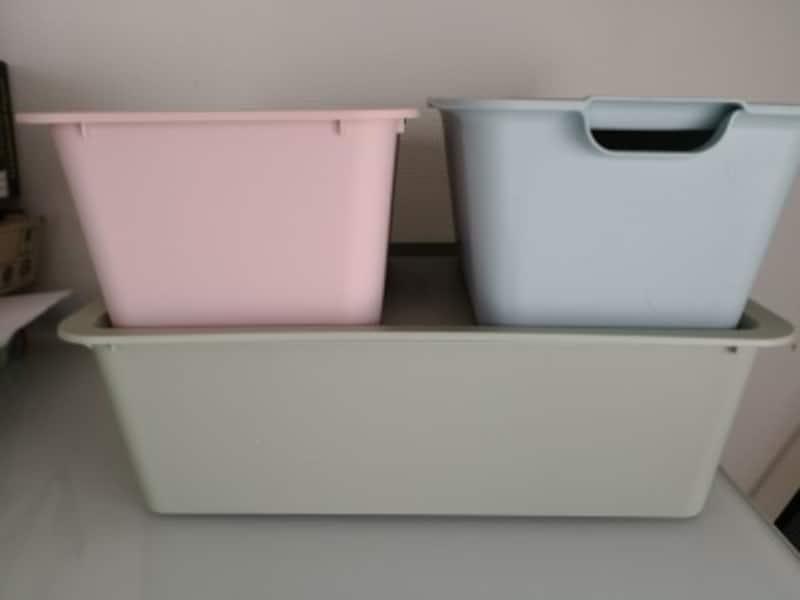 キャンドゥおすすめ商品21:収納に便利なふた付きストレージボックス
