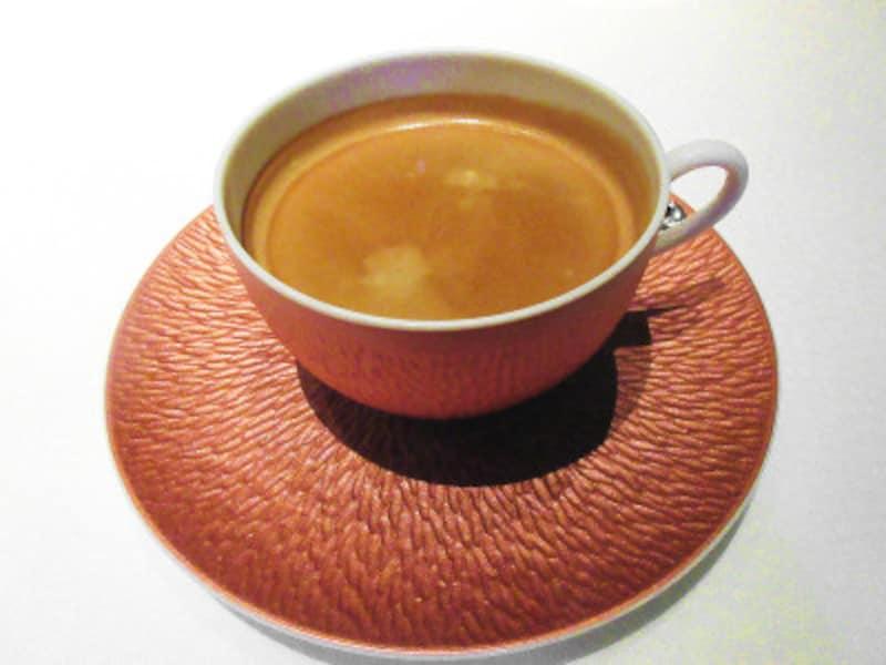 レストランプルニエ東京會舘オリジナルブレンドのコーヒー