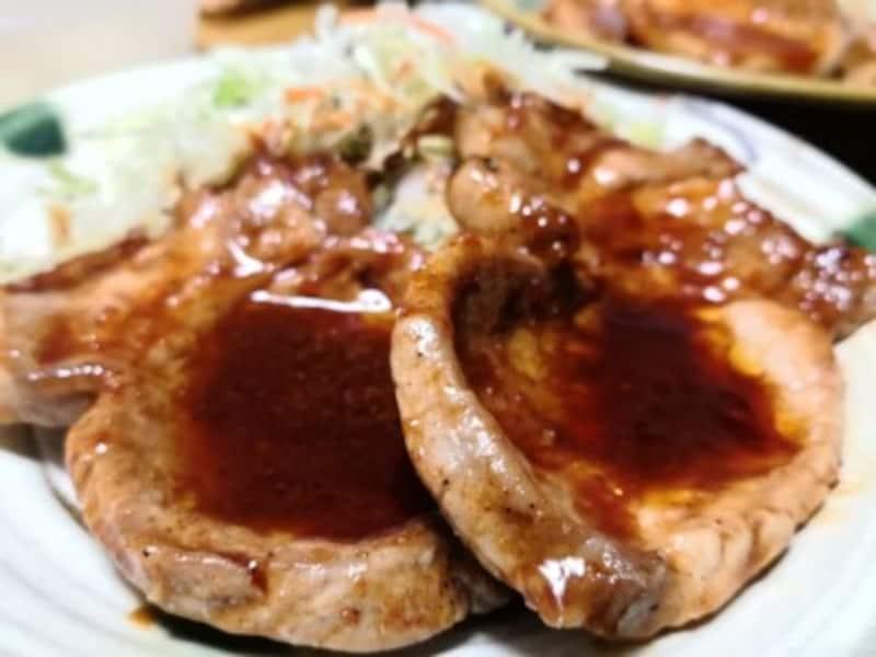 ビビゴ豚プルコギのたれレシピポークソテー