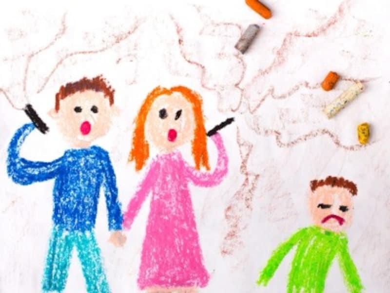 親のタバコの子供への影響