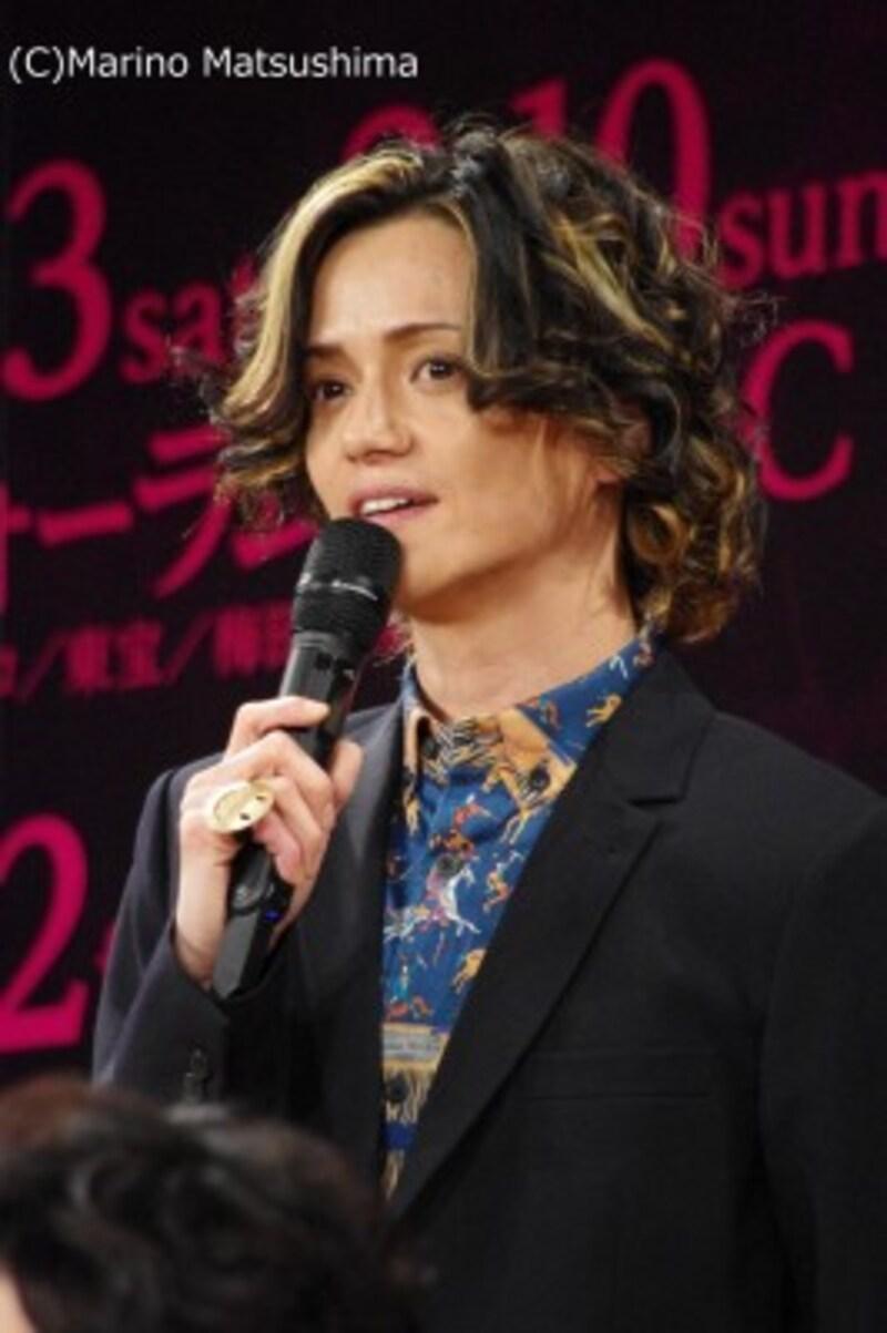 『ロミオ&ジュリエット』製作発表にて。(C)MarinoMatsushima