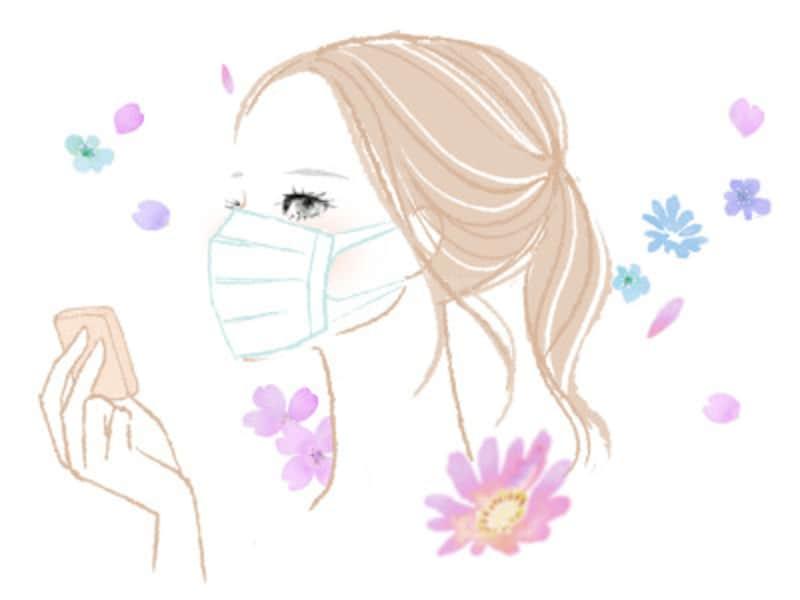マスクをしているときの化粧崩れは、どうしてもおきてしまうもの