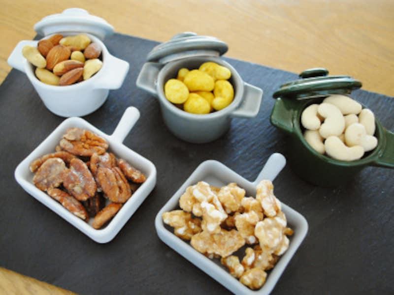 無印良品の味付きナッツ集合