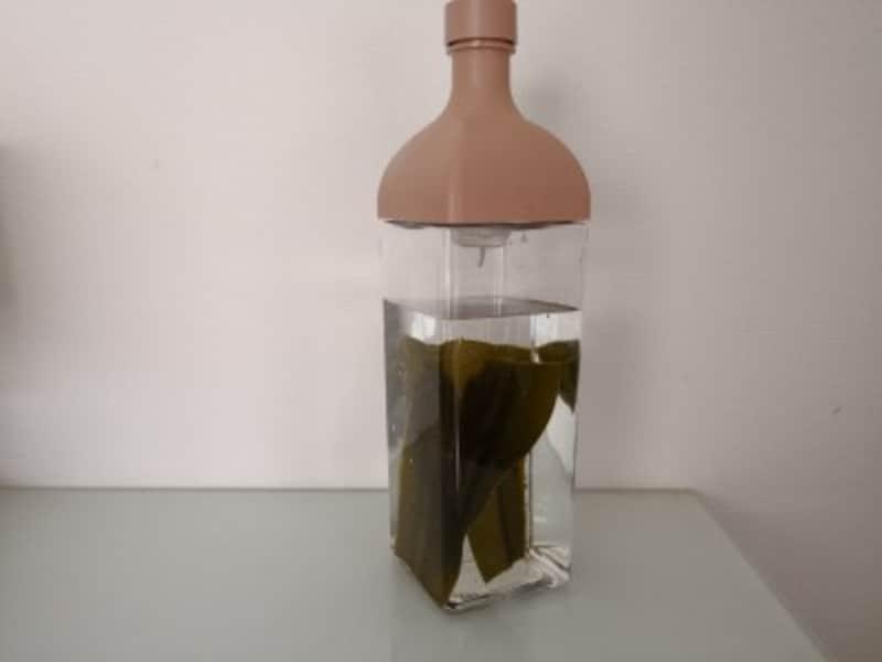 ハリオカークボトルで出汁をとり家事の時短