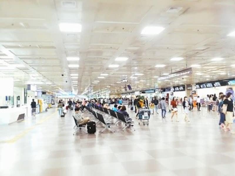 大邱国際空港1階到着フロア