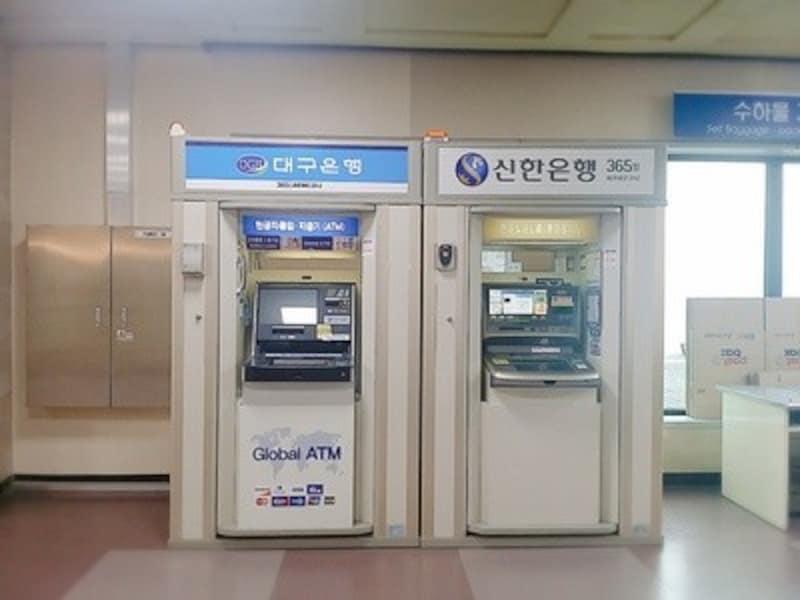 大邱国際空港、LINEPAYが使えるATM