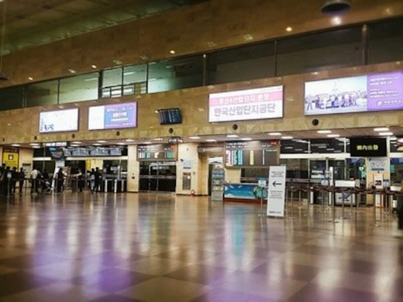 大邱国際空港2階出国フロア