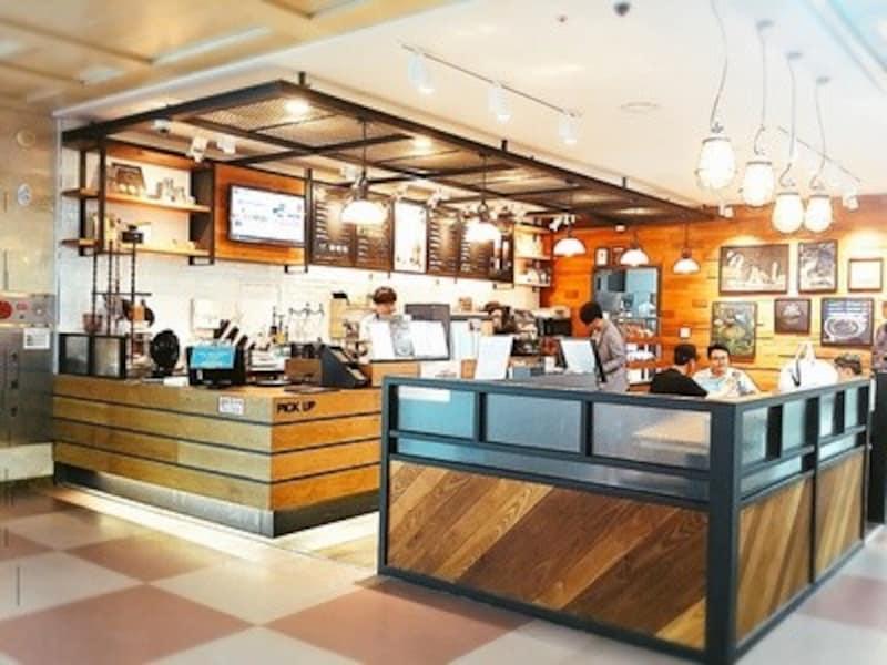 大邱国際空港内のカフェ