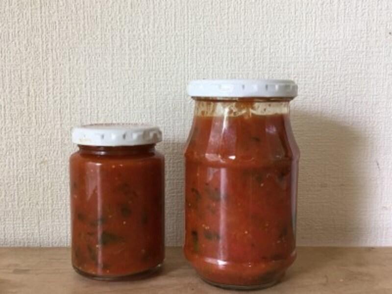 見切り品のトマトでケチャップを作ることも