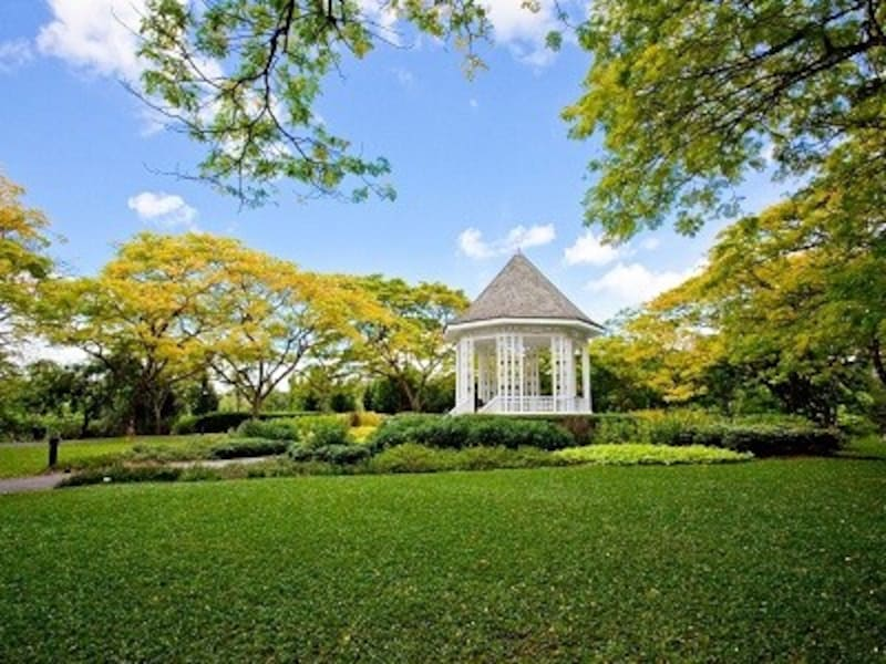 シンガポール植物園はシンガポール初の世界遺産