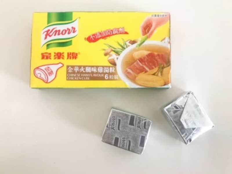 金華ハムの固形スープの素