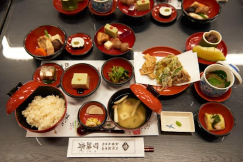 静岡「お茶御膳」