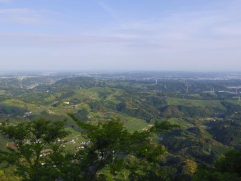 粟ヶ岳山頂からの絶景