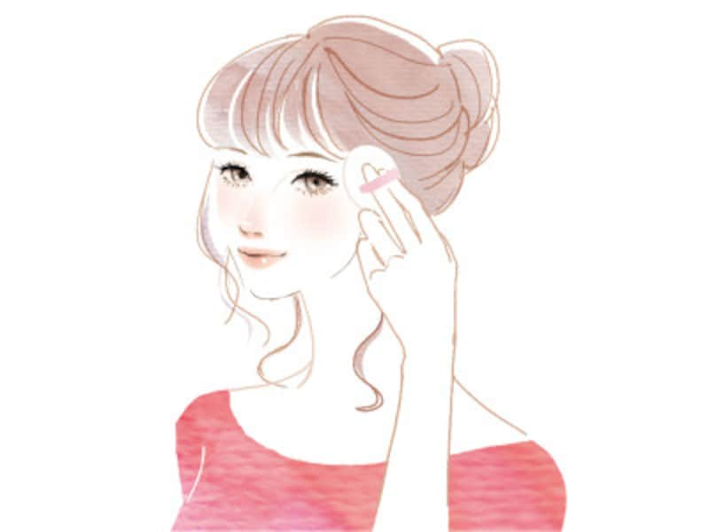 横顔美人になるには、髪型とまつげ、もみあげを意識して