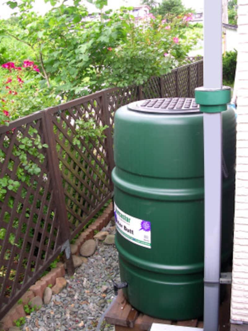 英国ハーコスター社製の雨水タンク