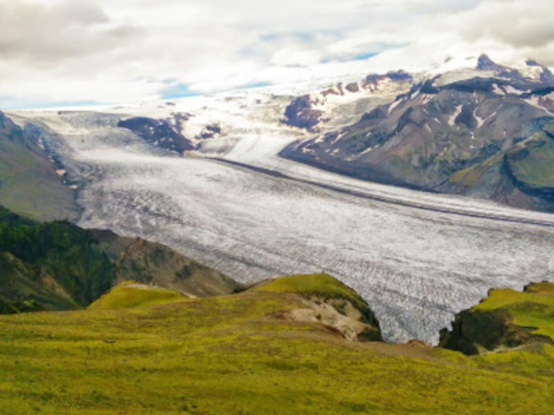 アイルランドの世界遺産「ヴァトナヨークトル国立公園-炎と氷によるダイナミックな自然」