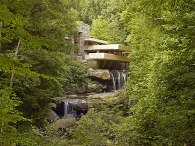 アメリカの新世界遺産「フランク・ロイド・ライトの20世紀建築」、落水荘(カウフマン邸)