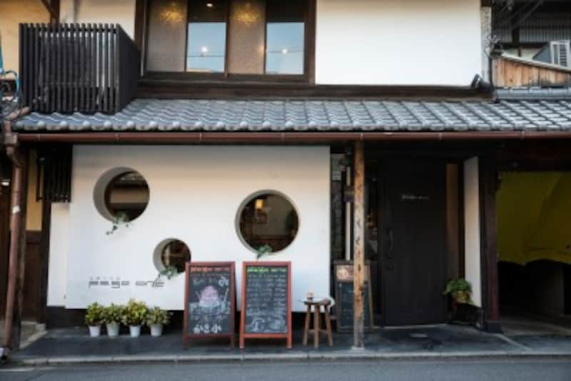 京都のお寺巡りの合間に食べたいかき氷屋さんの外観