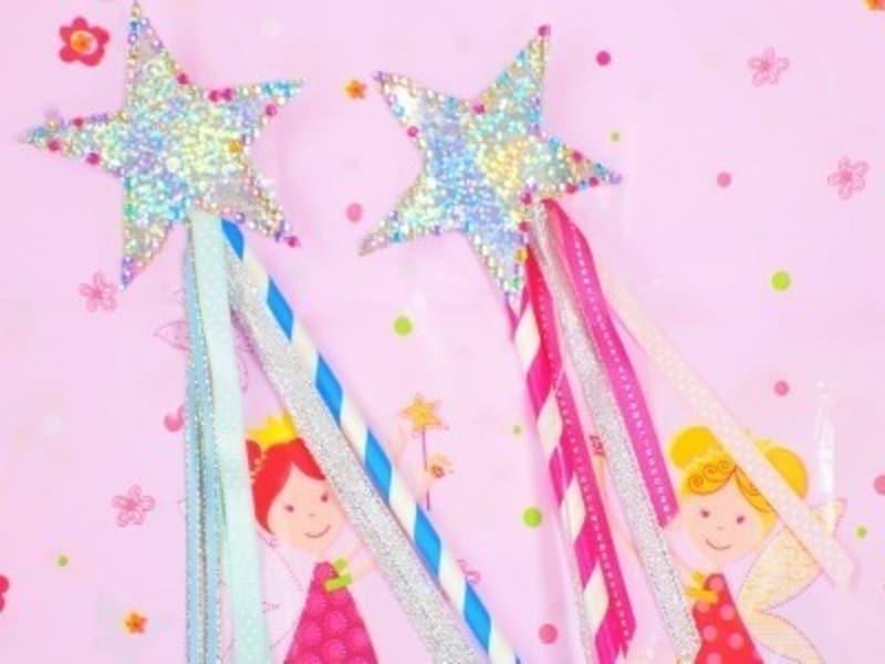 女の子の夏休み工作・自由研究工作妖精になれる⁉魔法の杖
