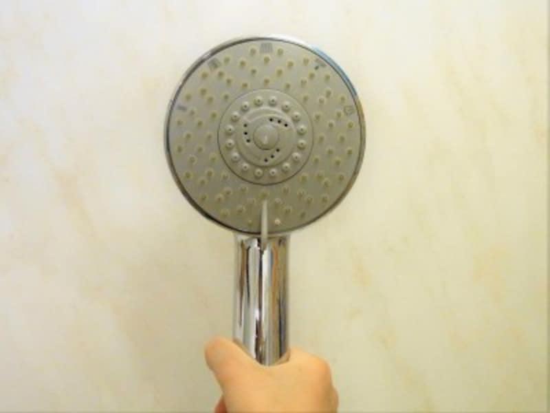 シャワーヘッドの水が出てくる部分